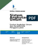 Modul m3 Evolusi Au Dan Karakteristik Pengguna Jalan Format Umb
