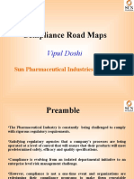 Vipul Doshi - Compliance Road Map