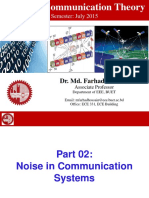 Part 02 EEE309 Noise in Communication Systems