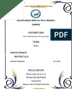 Bm-tarea i Etica Profesional de Los Docentes-marleni Payano