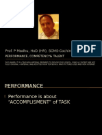 Performance- Competency Talent Mgt
