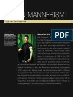 12. Italian Mannerism