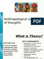 Anthropological School of Thoughts