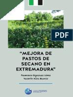 Mejora de Pastos de Secano Gonzalez y Maya 2016