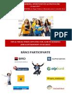 INVITATIE Eveniment O Cariera in Banking 15 Mai 2017