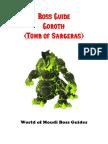 Boss Guide Goroth Patreon Member