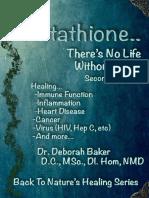 ES Glutathione No hay vida sin el