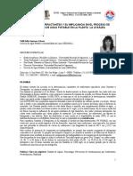 Estudio Del Xantato en Perú I-021