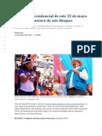 El Debate Presidencial de Este 22 de Mayo en Piura Constará de Seis Bloques