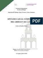 Sintaxis Casual Comparada del Griego y el Latín [José Juan Batista Rodríguez]