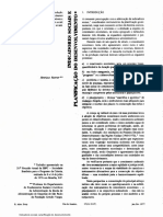 Indicadores Sociais e Planificação Do Desenvolvimento Rattner H.