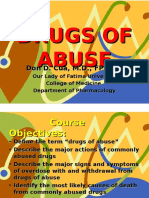 Substance of Abuse Drug Abuse