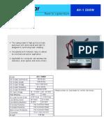 Gefran Manual User | Power Inverter | Electrical Connector