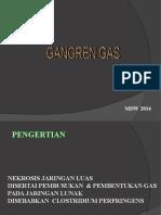 GAS GANGRENE mdw.ppt