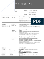 Resume (Website)