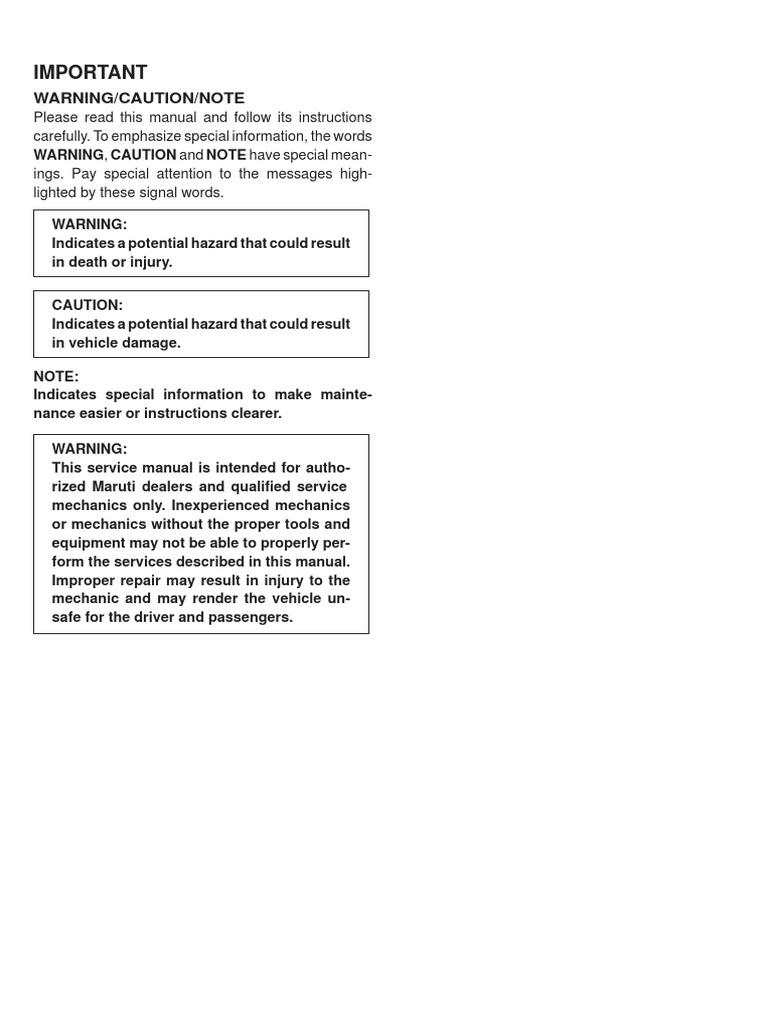 maruti suzuki f8d service manual pdf electrical connector manual rh scribd com 3-Way Switch Wiring Diagram Basic Electrical Wiring Diagrams