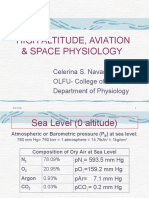 High Altitude, Aviation & Space Physiology