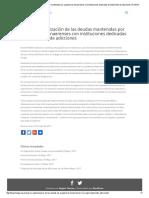 Urge La Regularización de Las Deudas Mantenidas Por Organismos Bonaerenses Con Instituciones Dedicadas Al Tratamiento de Adicciones _ FONGA