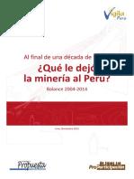 Al final de una década de boom  Qué le dejó la minería al Perú  Balance 2004-2014.pdf
