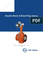 L&T Double Block and Bleed Plug Valves