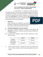 Edital Fapema Nº 017-2017 - Teses e Dissertações