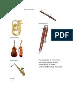 Instrumentos Que Producen Sonidos Graves y Agudos