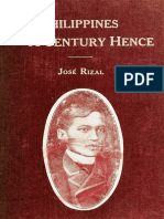 The Philippines a Century Hence by José Rizal