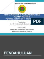 Profil Psoriasis Di Poliklinik Kulit Dan Kelamin