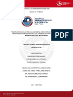 Aguirre Chavez Garcia Gestion Empresarial Tres Organizaciones