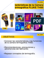 Cámaras Fluke Ti450 Manual
