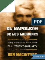 El Napoleon de los ladrones - Ben Macintyre.pdf