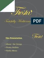 Fiesta Presentation 2012