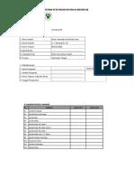 2. Template Data Prioritas Blanko