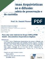 Plataformas Arquivísticas de acesso e difusão
