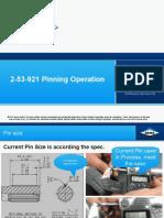 2 53 921 Pinning Operation