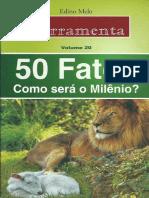 50 Fatos-Como Será o Mileno-Édino Melo -Ferramentas