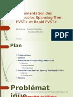 Implémentation Des Protocoles Spanning Tree