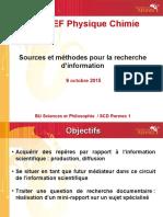 Sources Et Méthode Pour La Recherche d'Information