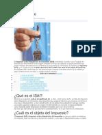 Impuesto ISAI
