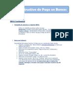 Instructivo de Pago Bbva - Bcp