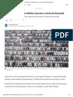 Conflitos No Oriente Médio Marcam o Início Do Ramadã _ Mundo _ G1