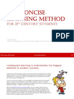 Concise Learning Method (CLM) for 21st Century Students eBook