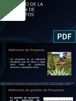Expo Gestion de Proyectos