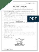 Electricc currenttt physicssss123