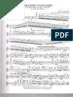 Taffanel - Mignon Fantasy - Flute Part