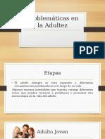 Problématicas en La Adultez