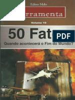 50 Fatos-Quando Acontecerá o Fim Do Mundo-Édino Melo -Ferramentas