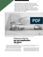 Francesco Dal Co Por Una Arquitectura Sin Ismos