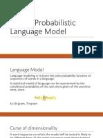 Neural Probabilistic Language Model