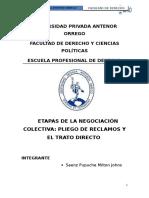 Derecho Laboral Negociacion Saenzzz